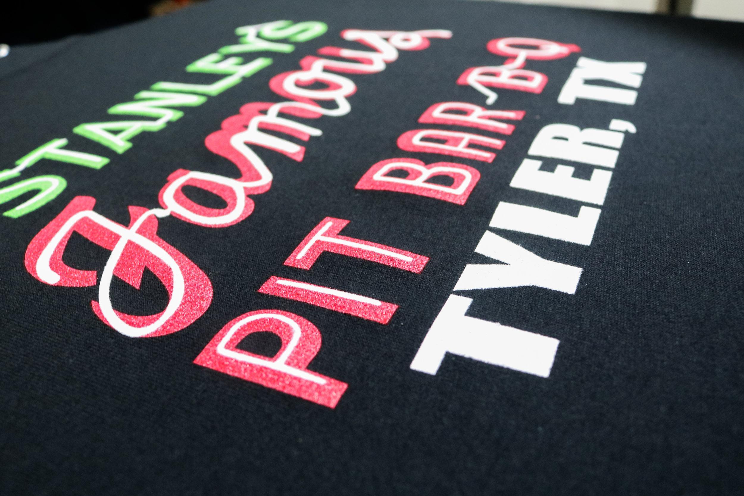 Stanley's BBQ Tyler, Tx Screen Printed Shirts