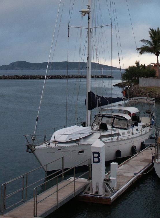 Adventure  at B dock, Marina Real