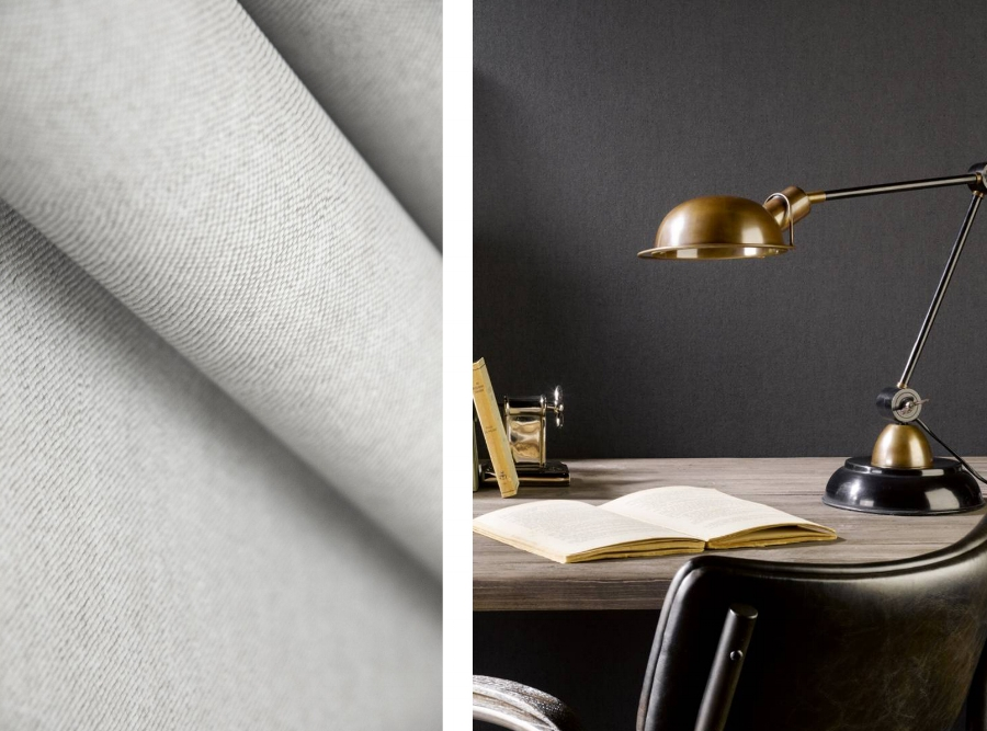 3. This wallpaper from  Arte  is perfect if you just want to add to add a subtle texture to the space and this comes in loads of different colour options