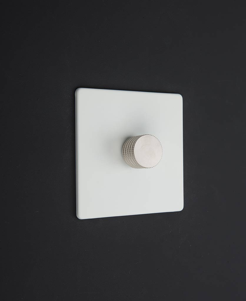 White Single Dimmer Switch