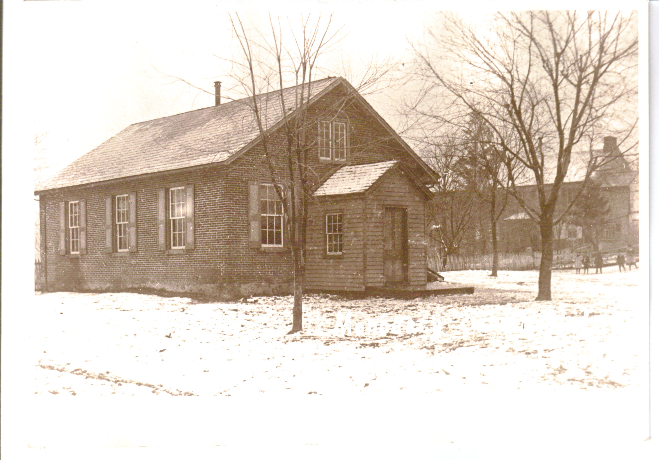 The Monocacy School   photo ca. early 1900's   Explore Today