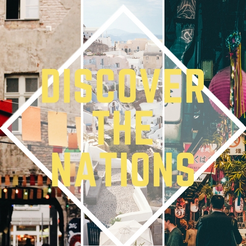 Discover the Nations   February 16-18 | Register Now