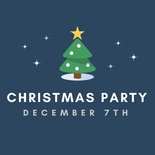CCF Christmas Party  Friday Dec. 7th   Hillcrest Chapel