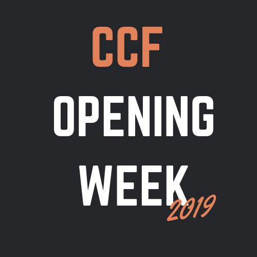 Opening Week - it's a happening week!  September 22nd - September 27th