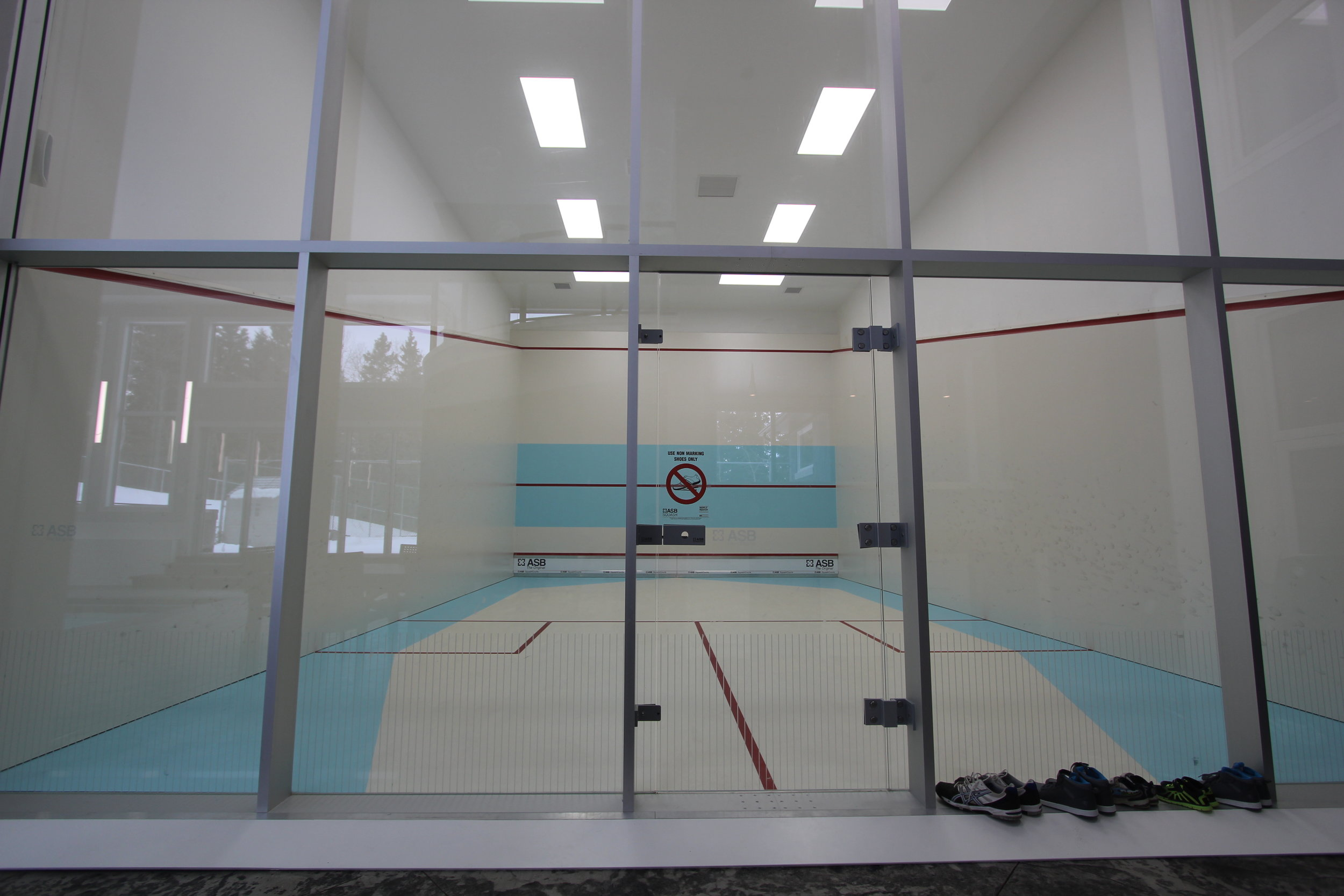 Indoor Squash Court Addition