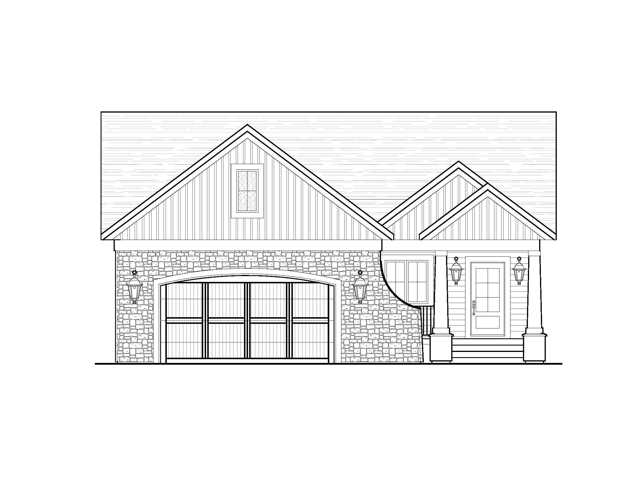 Coombe - Bungalow | 1,665 sf
