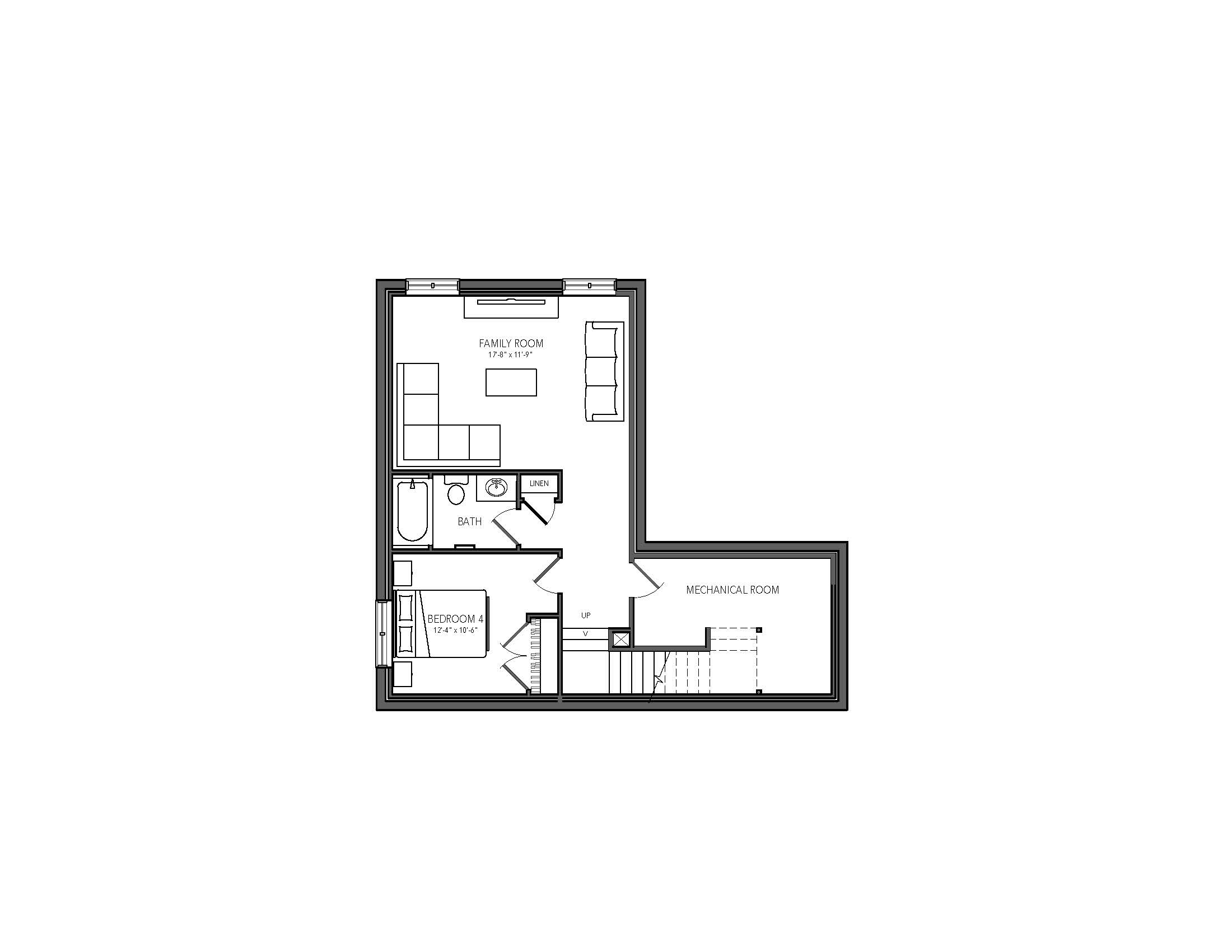 Future Lower Floor Plan