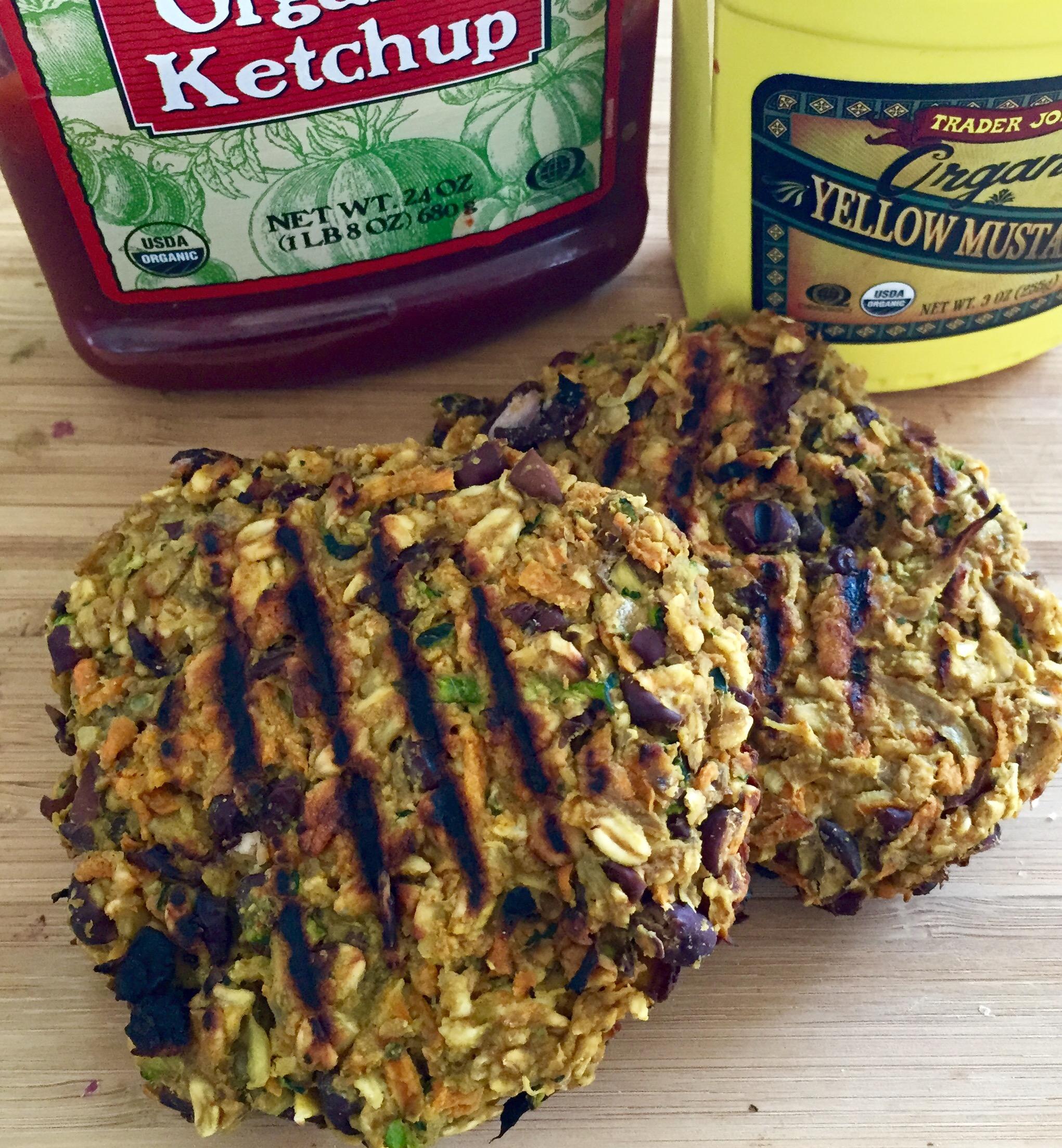 gluten free and vegan veggie burger for plant-based living