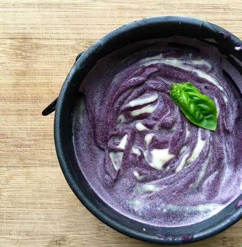 blueberry cream pie - gluten free, vegan, paleo, no added sugar