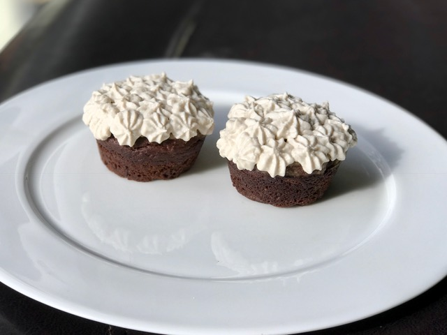 Chocolate Cupcakes for brain health - gluten free, grain free, vegan, paleo