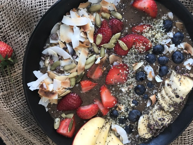 Superfood bowls for super bowl sunday