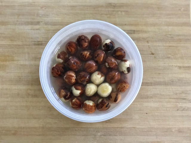 Soaked Hazelnuts