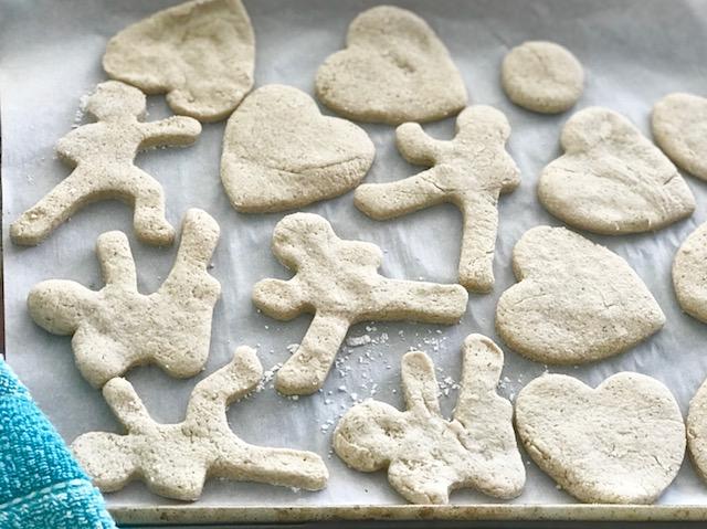 Sugar Less Cookies - from Kristine with Welli - Gluten Free, Vegan, Flourless