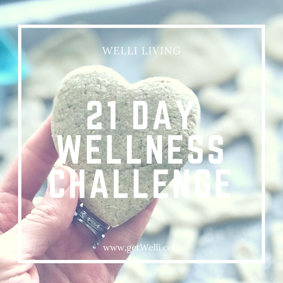 21 Day Wellness Challenge with Kristine Thomas of Welli
