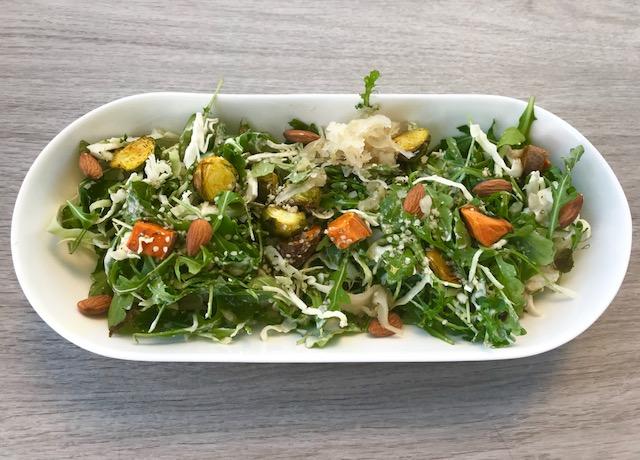 A new kind of Caesar Salad - by Kristine Thomas of Welli - gluten free, grain free, paleo, no added sugar