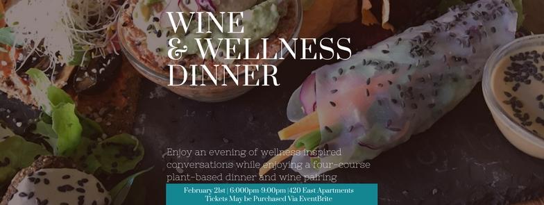 Wine and Wellness Dinner