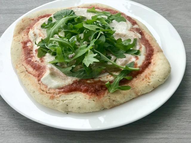 Grain Free Pizza - www.getWelli.com - #getWelli #paleo #vegan #glutenfree #pizza #grainfree #vegetarian