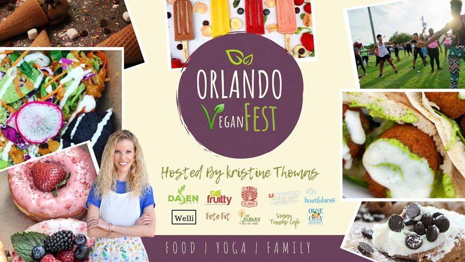 Orlando Vegan Fest 2018 - Hosted by Kristine Thomas of Welli #vegan #getWelli