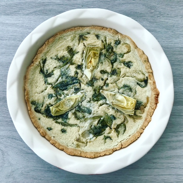 Easy Pie Crust - www.getWelli.com - #getWelli #vegan #vegetarian #almondflour