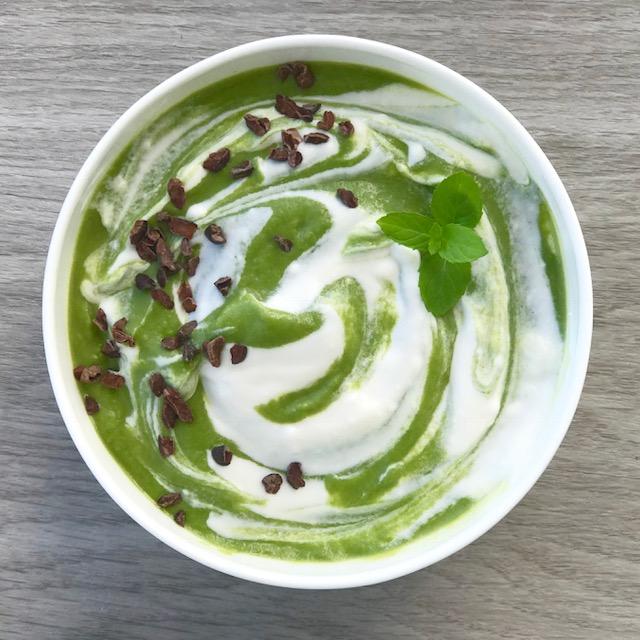 shamrock shake - www.JoyfulGoodness.com - #JoyfulGoodness #beJoyful #vegan #glutenfree #vegan #paleo #breakfast #stpatricksday