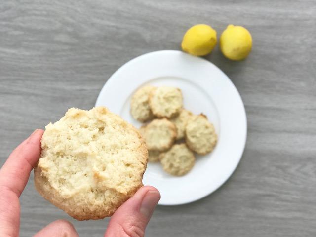 Lemon Cookies - JoyfulGoodness - #vegan #paleo #grainfree #dessert #lemon #easter