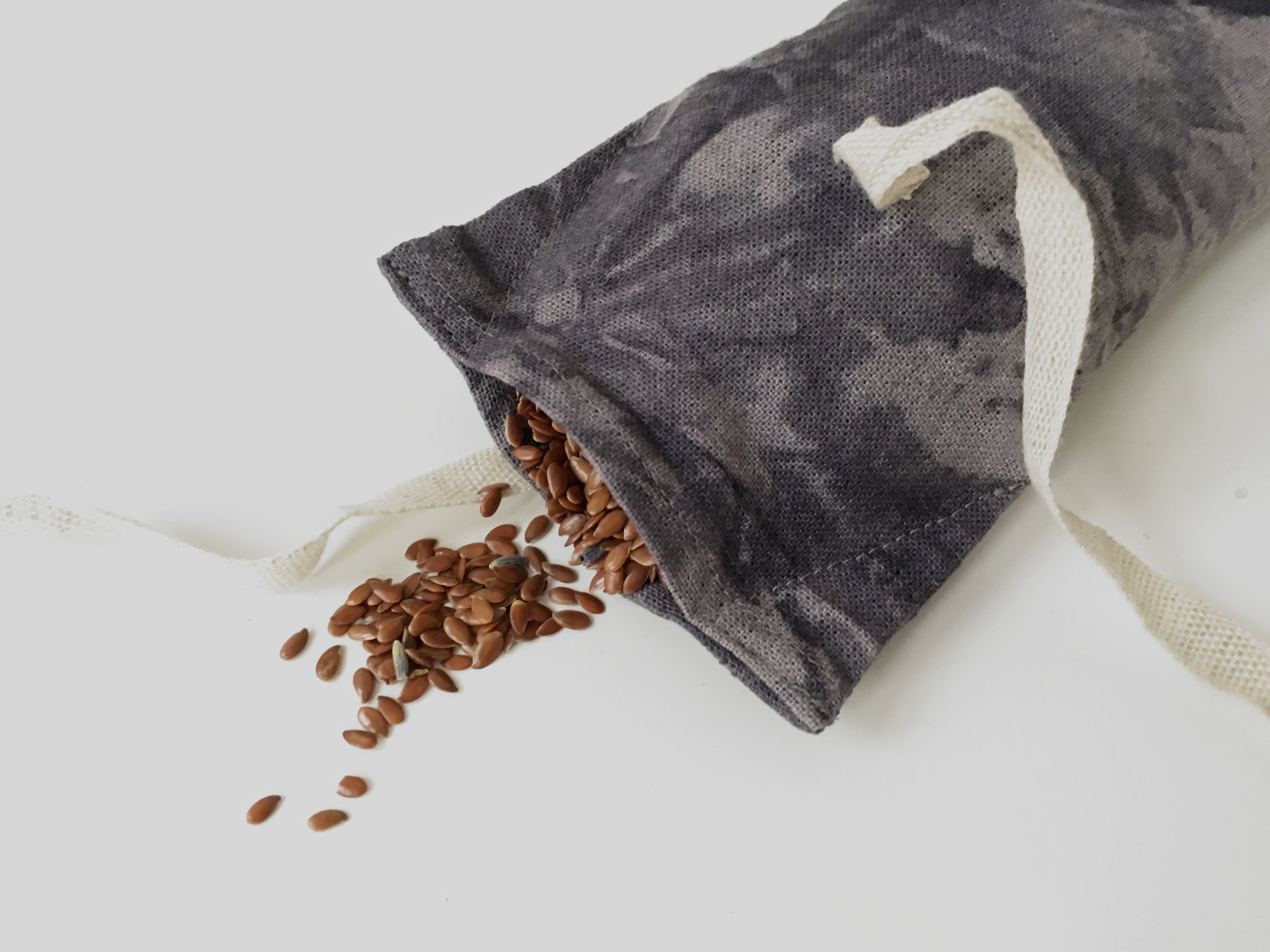flax and lavender relaxation eye pillow