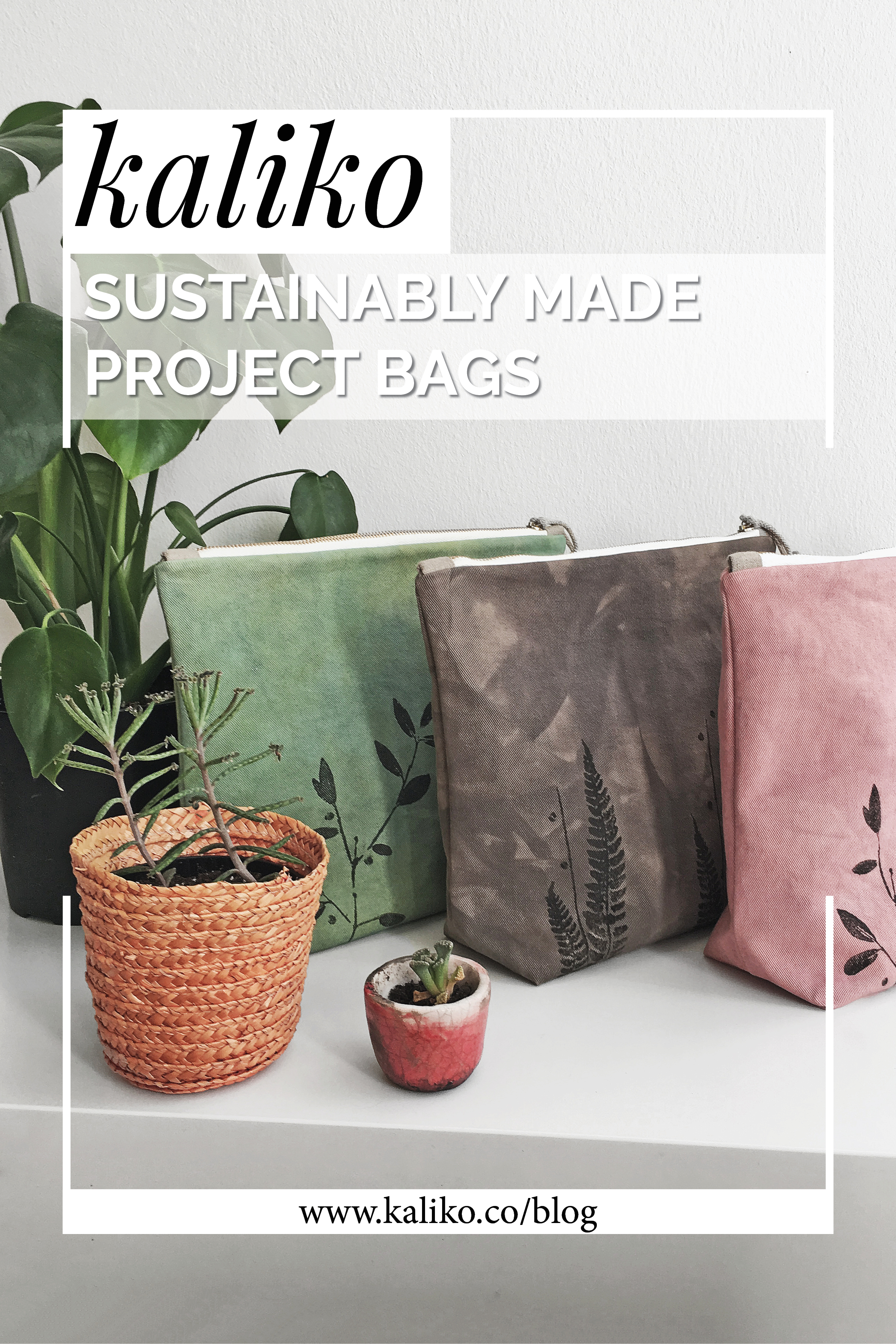 Making of sustainable project bags