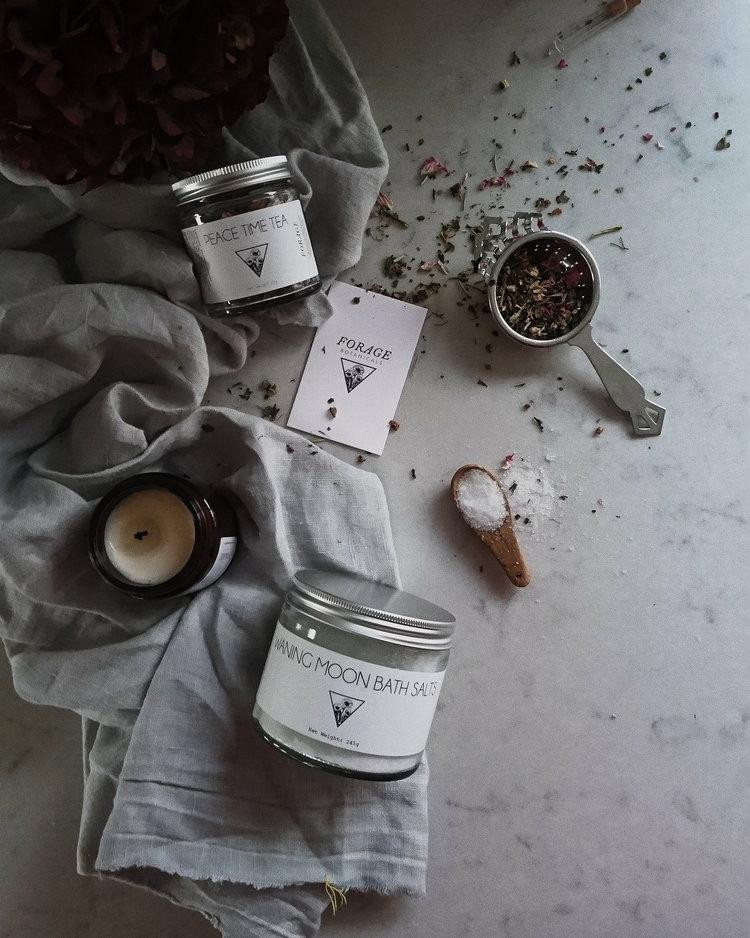 Self-care Kit by  Forage Botanicals