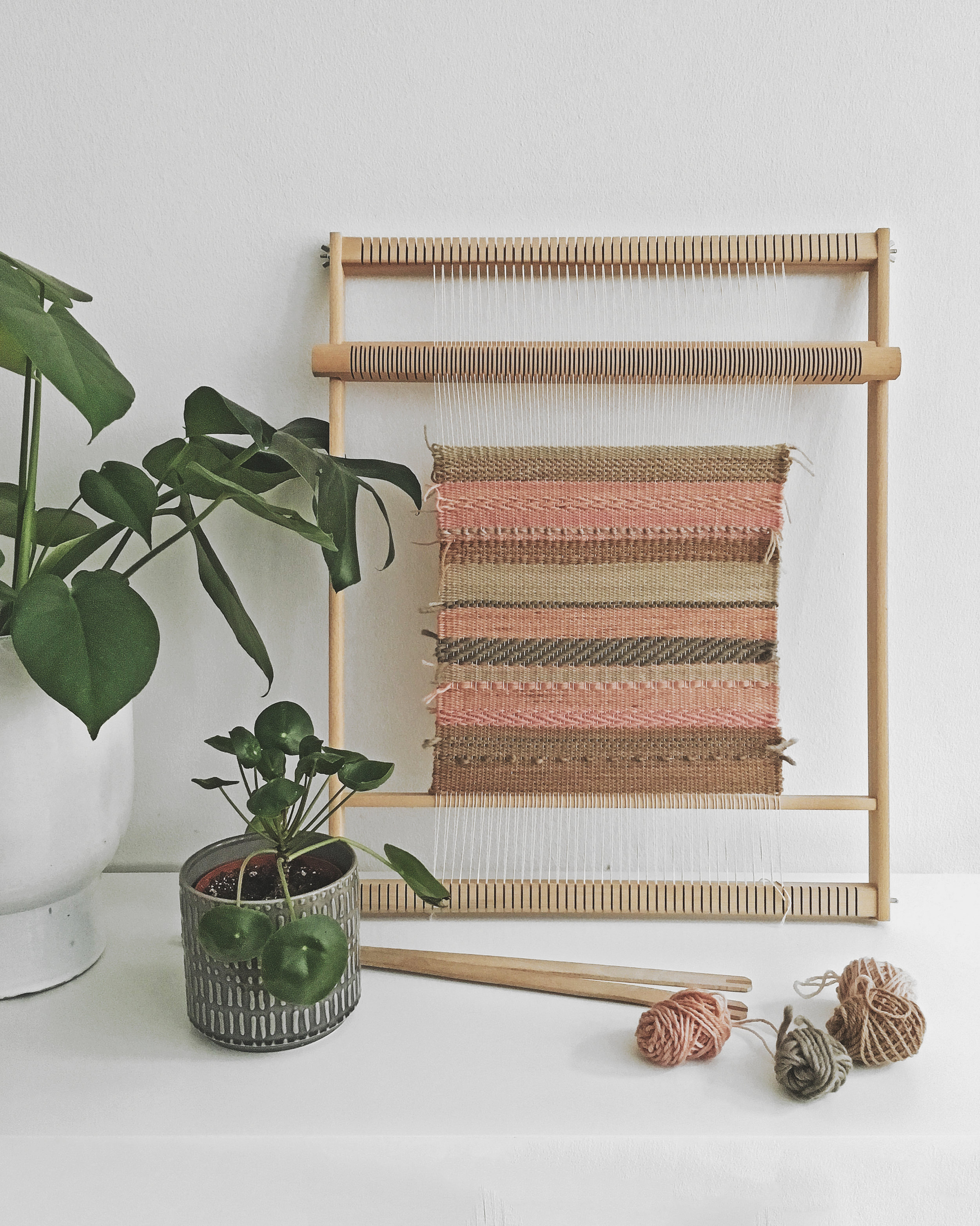 Daily weaving practice routine for self care and meditation