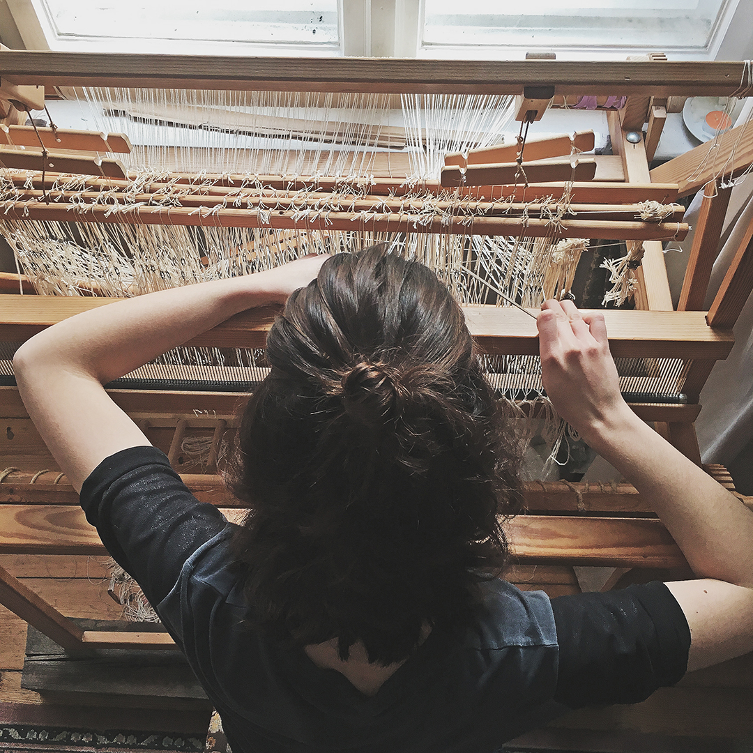 Setting boundaries in a handmade business is a skill to develop. Hope to find time for weaving on my loom soon again! #weaving #loom #maker #smallbusiness