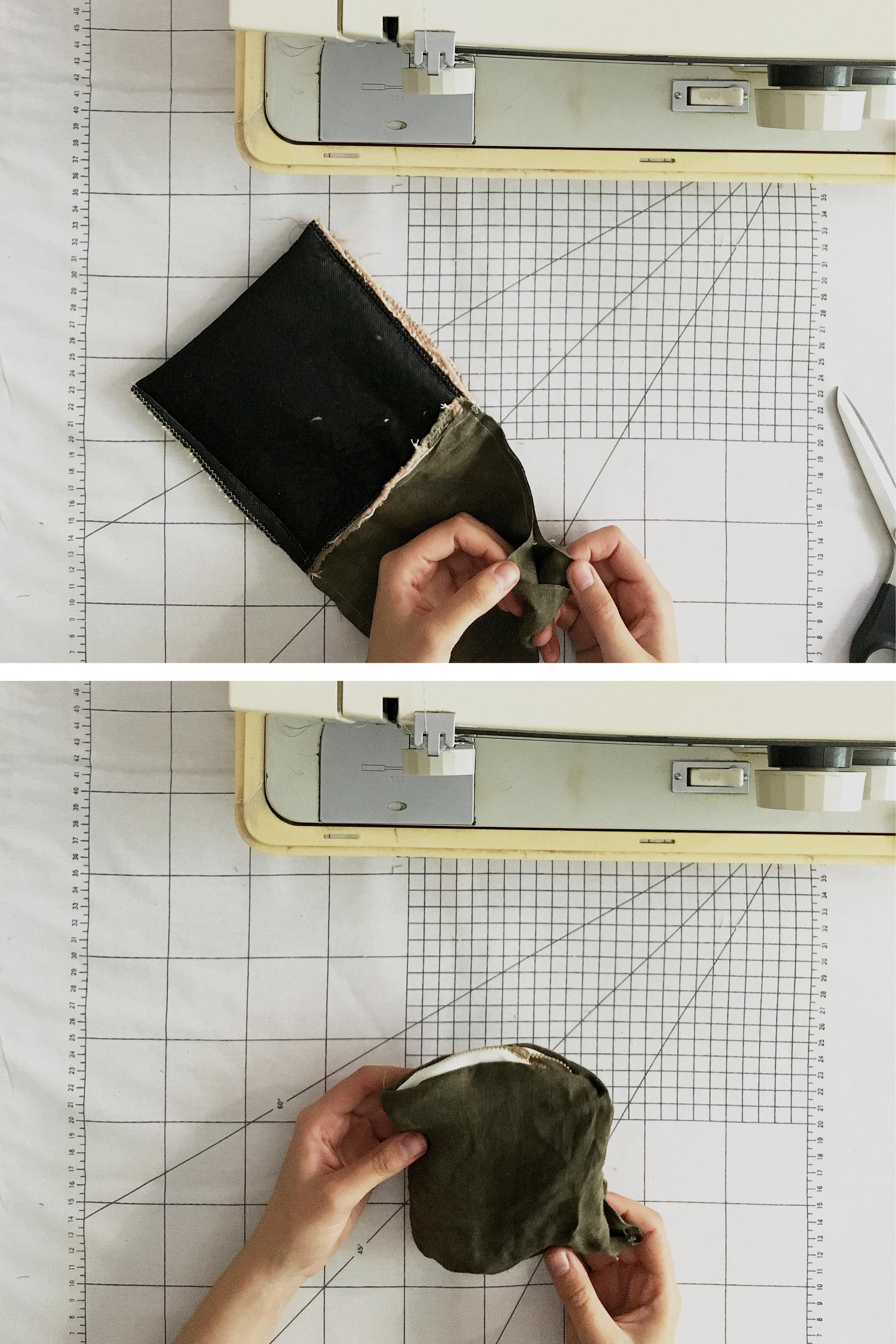 DIY handwoven zipper pouch tutorial