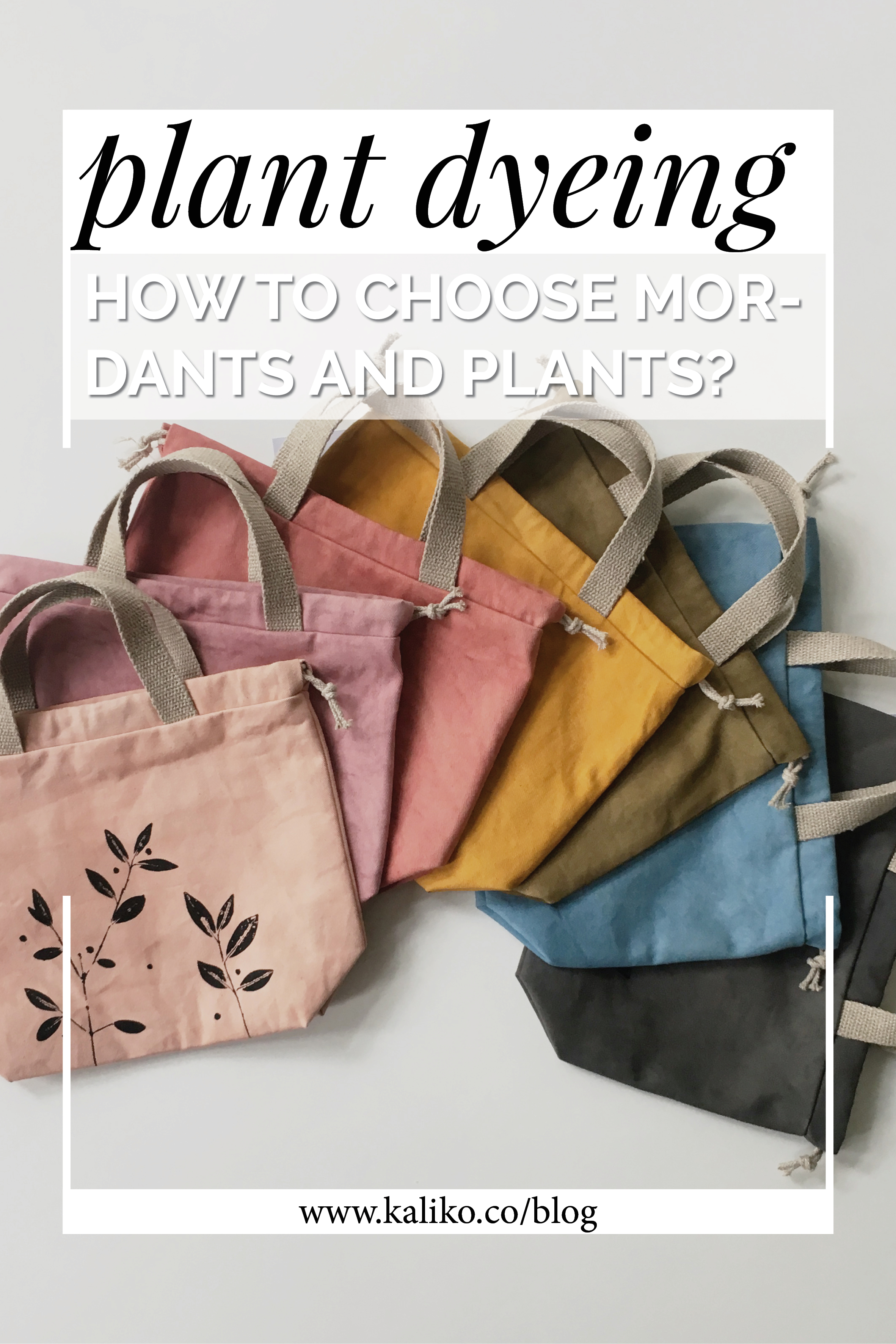 Mordants for natural dyeing-  a simple directory