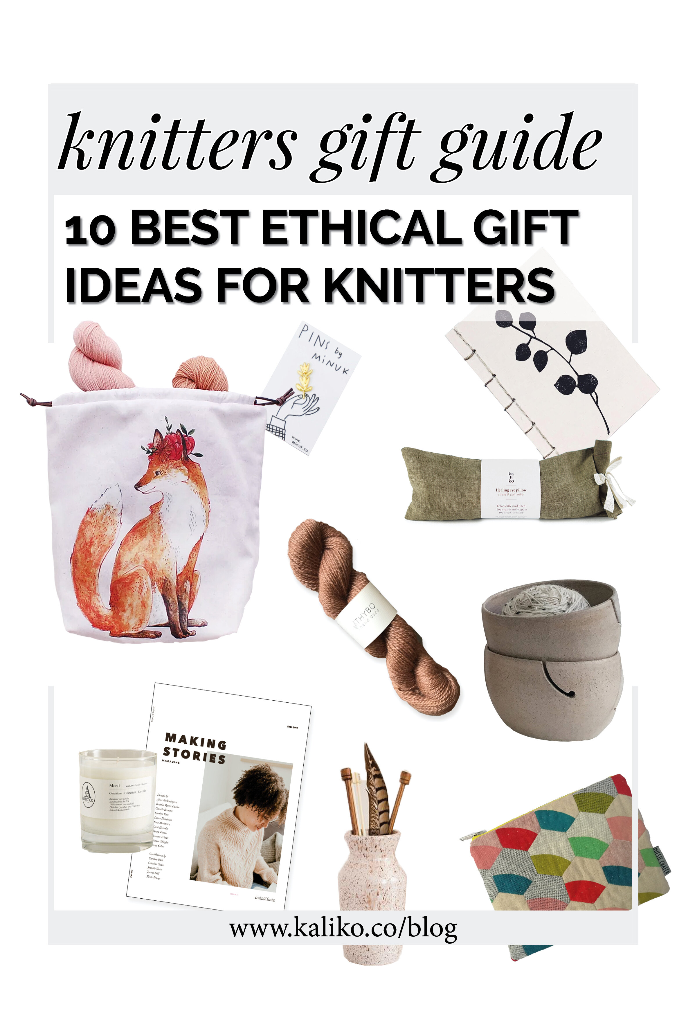 10 best ethical gift ideas for knitters