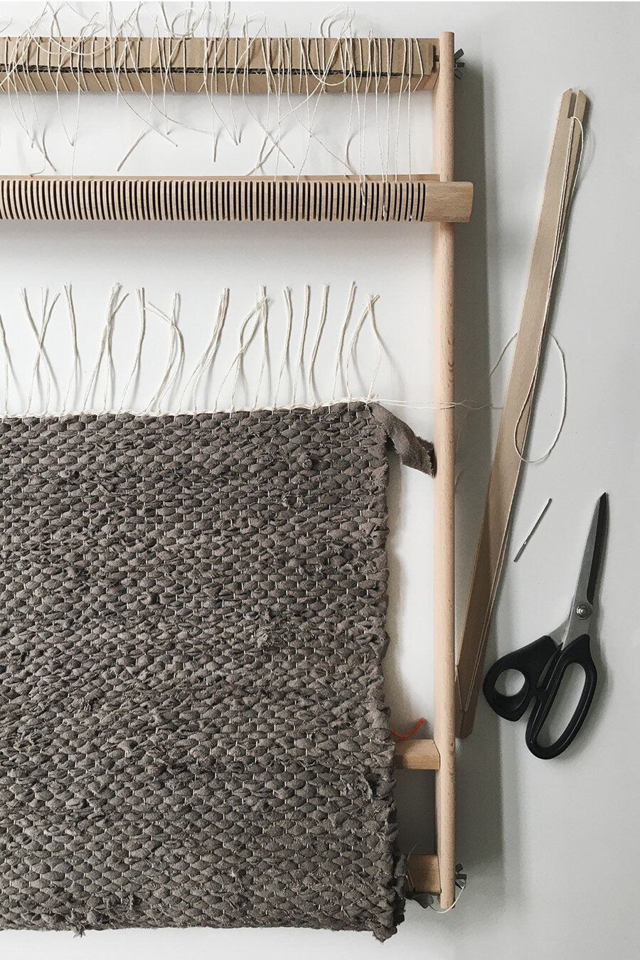 How To Weave A Rag Rug On A Frame Loom Kaliko