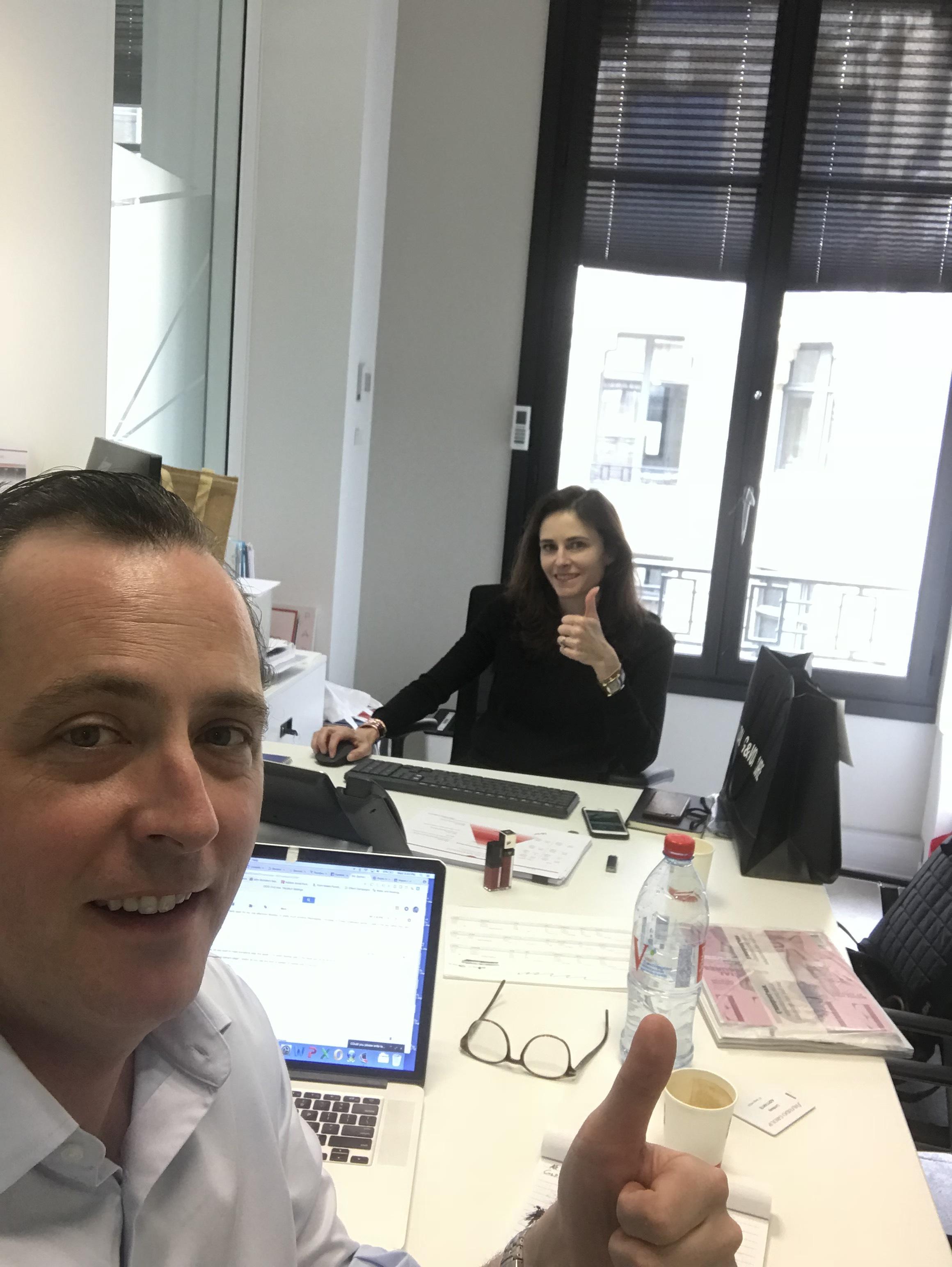 Mason Interactive in Paris at Shiseido