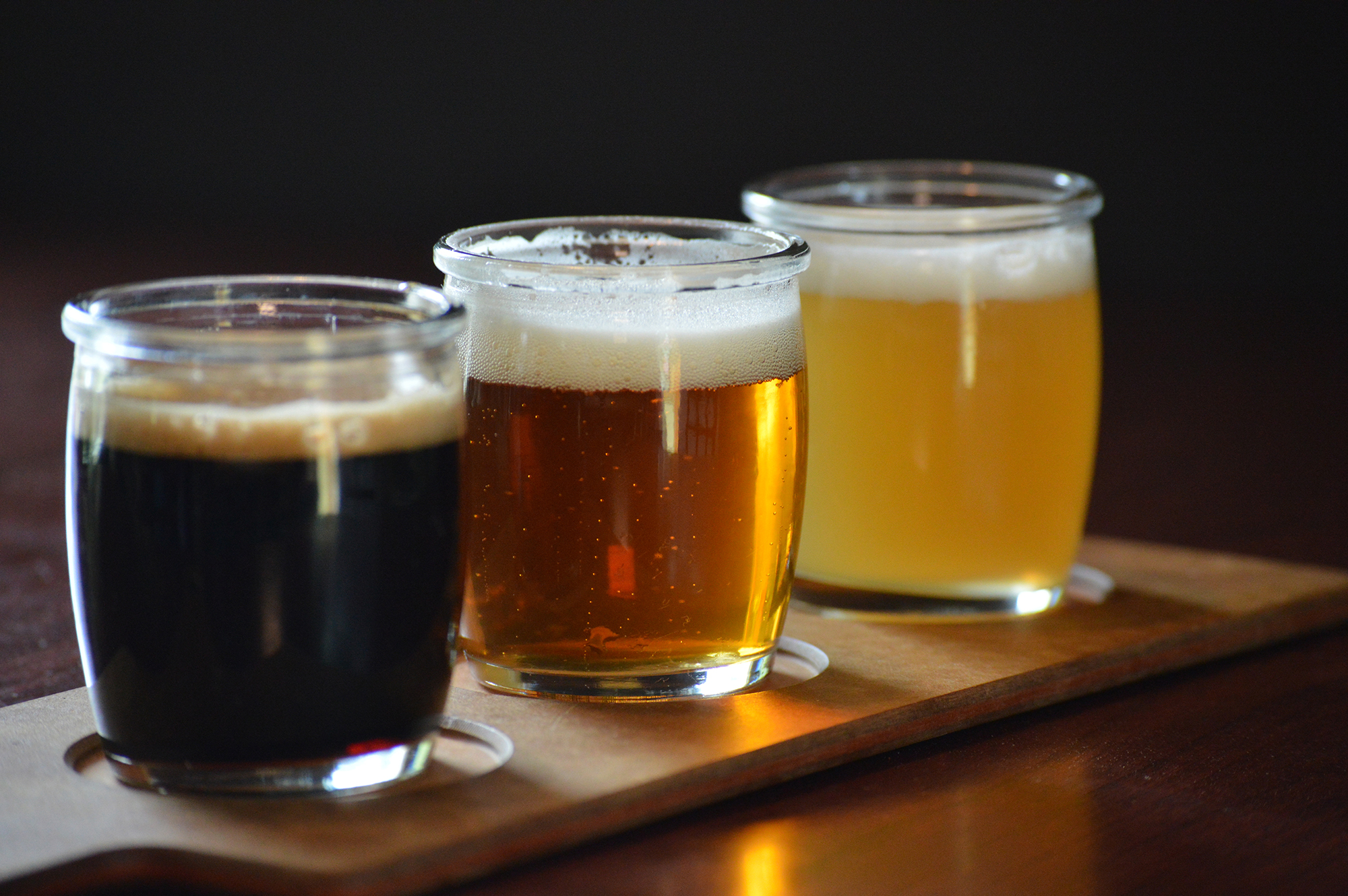 new! Beer FLights - Choose 3 of our 14 drafts to build your own beer flight. $5Tommyknocker Flight: Blood Orange IPA, Tundrabeary Ale. TK Root BeerAll IPA Flight: Bubble Stash IPA, Blood Orange, IPA, Voodoo Ranger Juicy Haze IPAColorado Only Flight: Colorado Native Amber Ale, Batch 19 Lager, Tommyknocker Tundrabeary