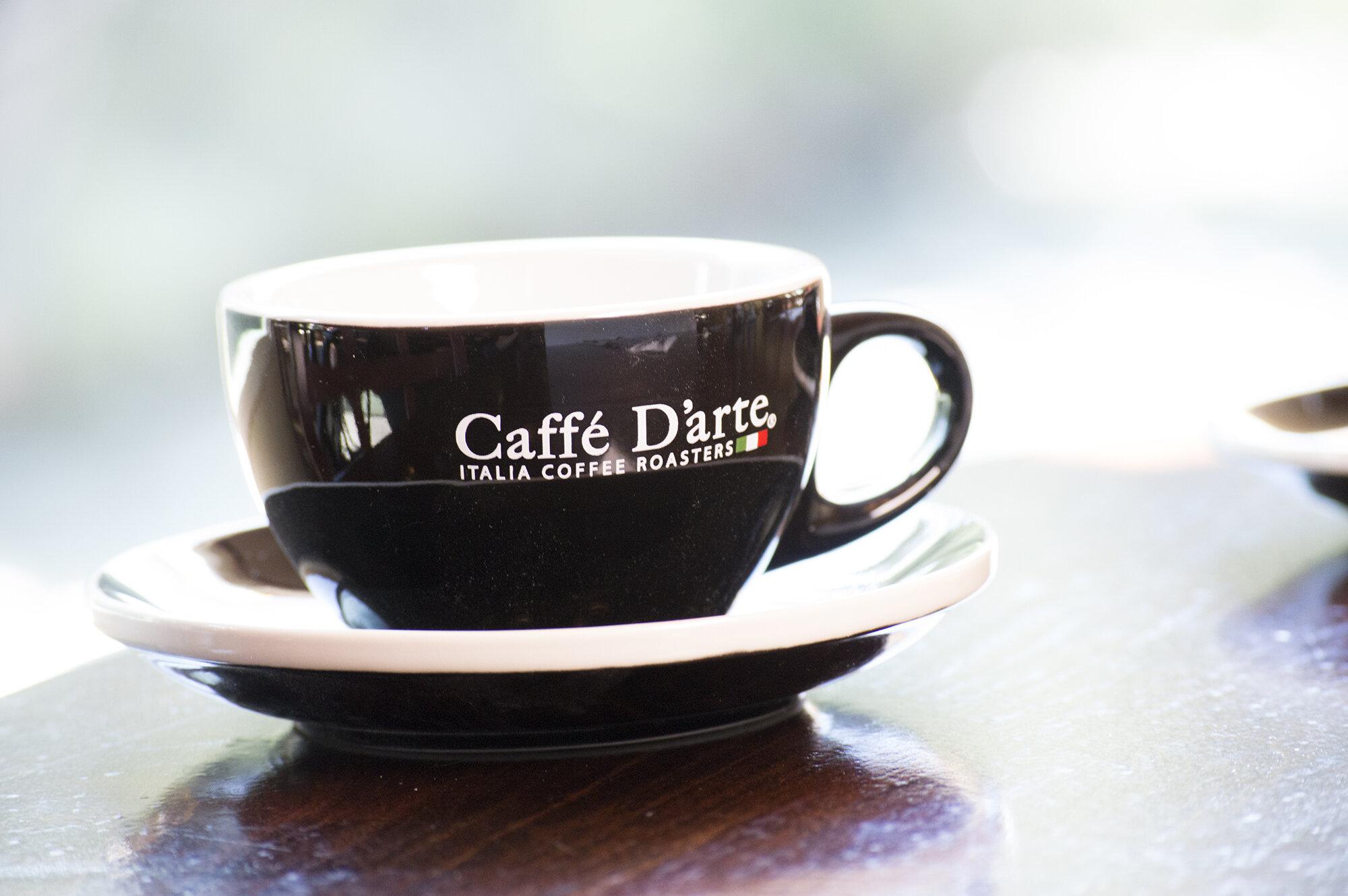 Espresso Is here! - Now serving Caffe D'arte espresso.