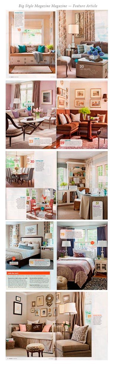 Big Style Magazine - Kate Singer Home