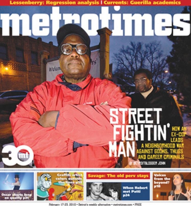 """""""HOW STREET FIGHTING MEN TOLD A DETROIT STORY CORRECTLY"""" - DETROIT METRO TIMES"""