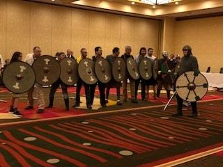 elyse with viking shields norwescon 2018.jpg