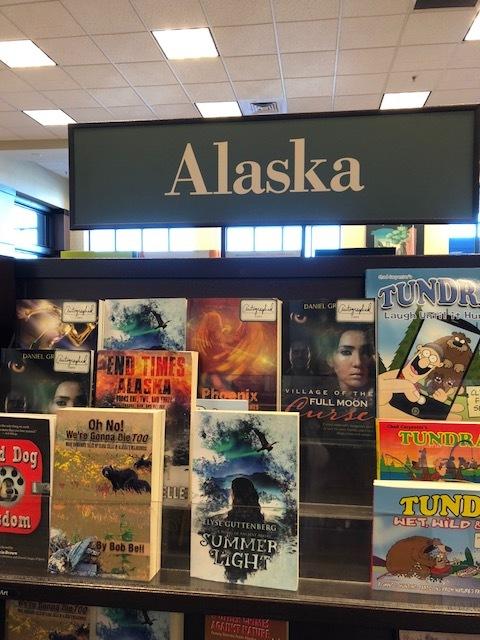 Summer Light on Barnes and Noble shelf.jpg