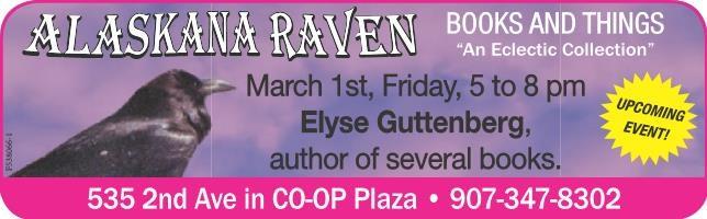 Alaskana Raven Books-first friday signing March 2019.jpg