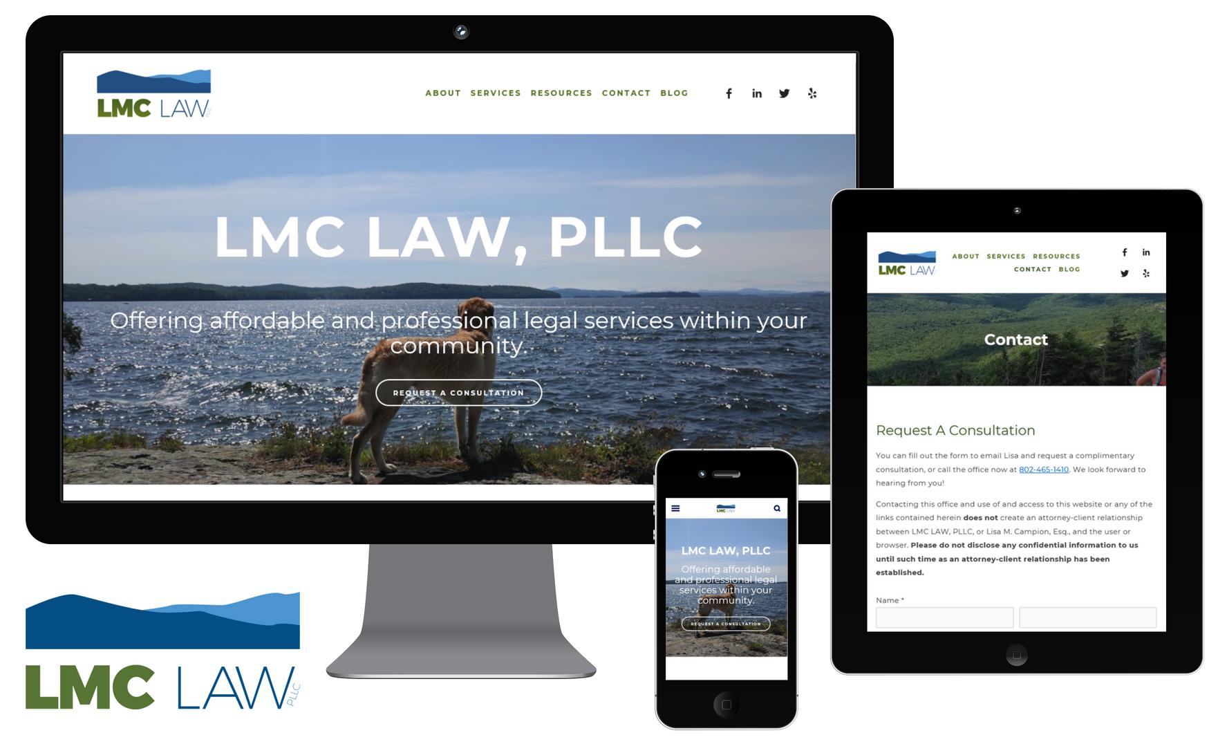 LMC Law, PLLC Website