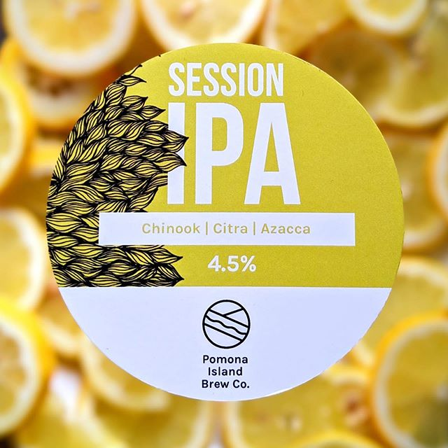Having a bit of a @pomonaislandbrew overload here at the crooked but nobody's complaining with gorgeous beers like this session. #craftbeer #sessionipa #manchester #bury #prestwich #beer