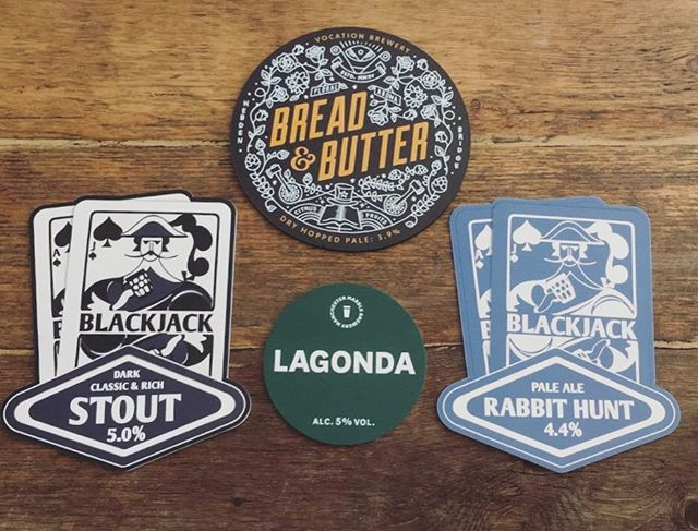 Coming to a pump near you at various stages over the weekend @marblebrewers @blackjackbeers @vocationbrewery #beer #stout #paleale #localbrewers #manchester #bury #prestwich