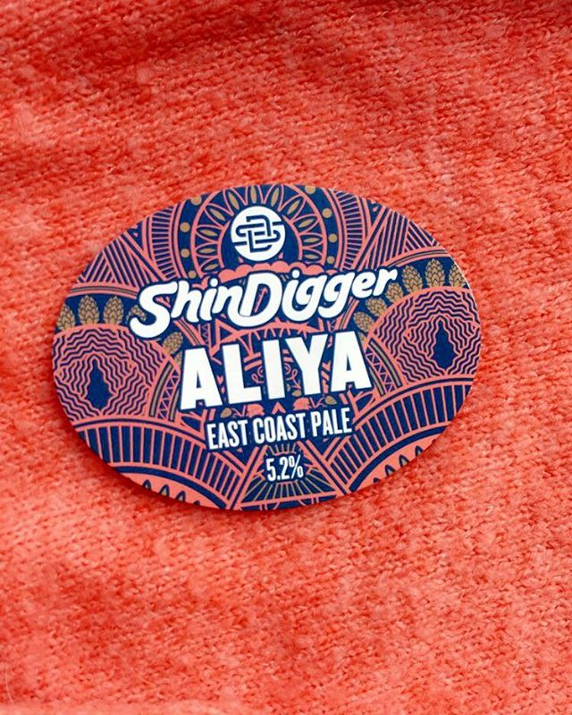 Up next is a tried and tested favourite from @shindiggerbrewingco ALIYA #shindigger #beer #paleale #ipa #manchester #prestwich #bury