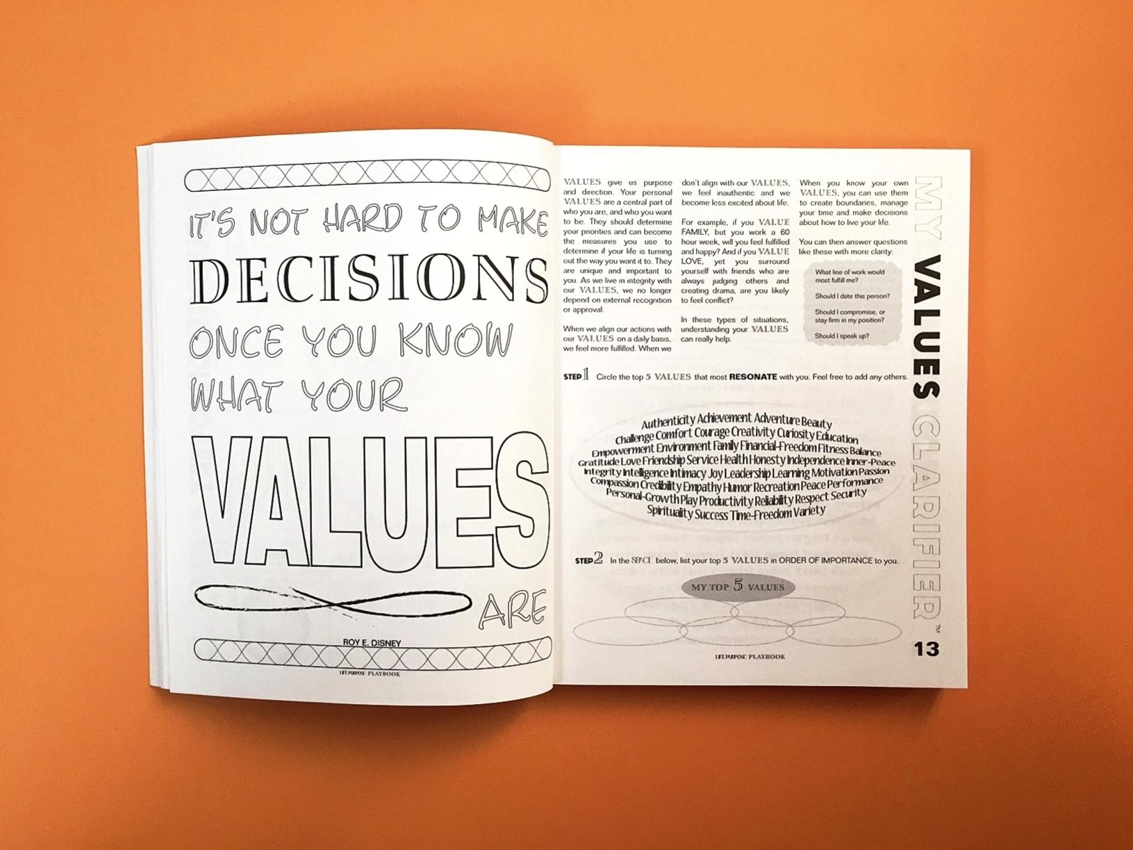 My Values Clarifier