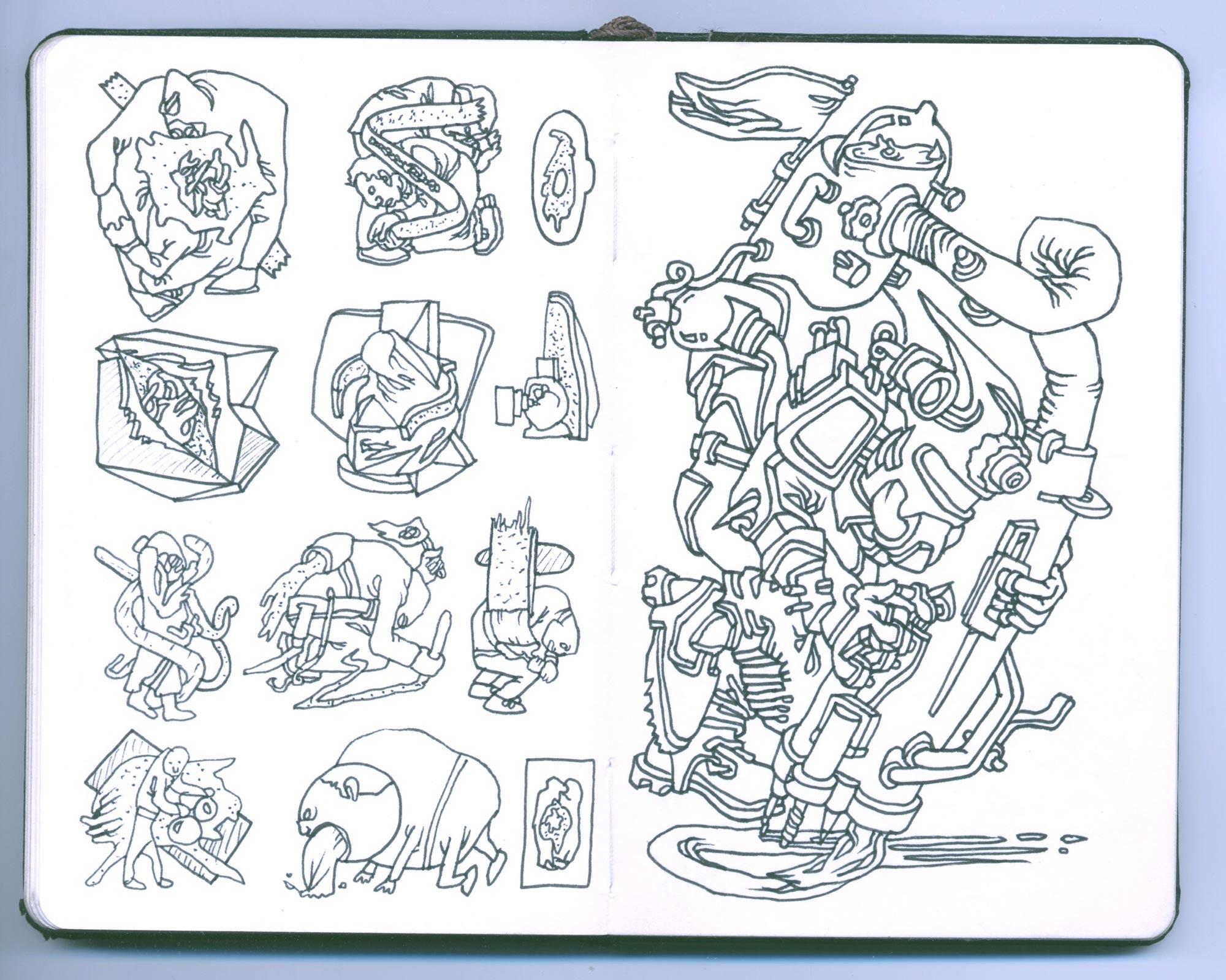 Pocket Sketchbook