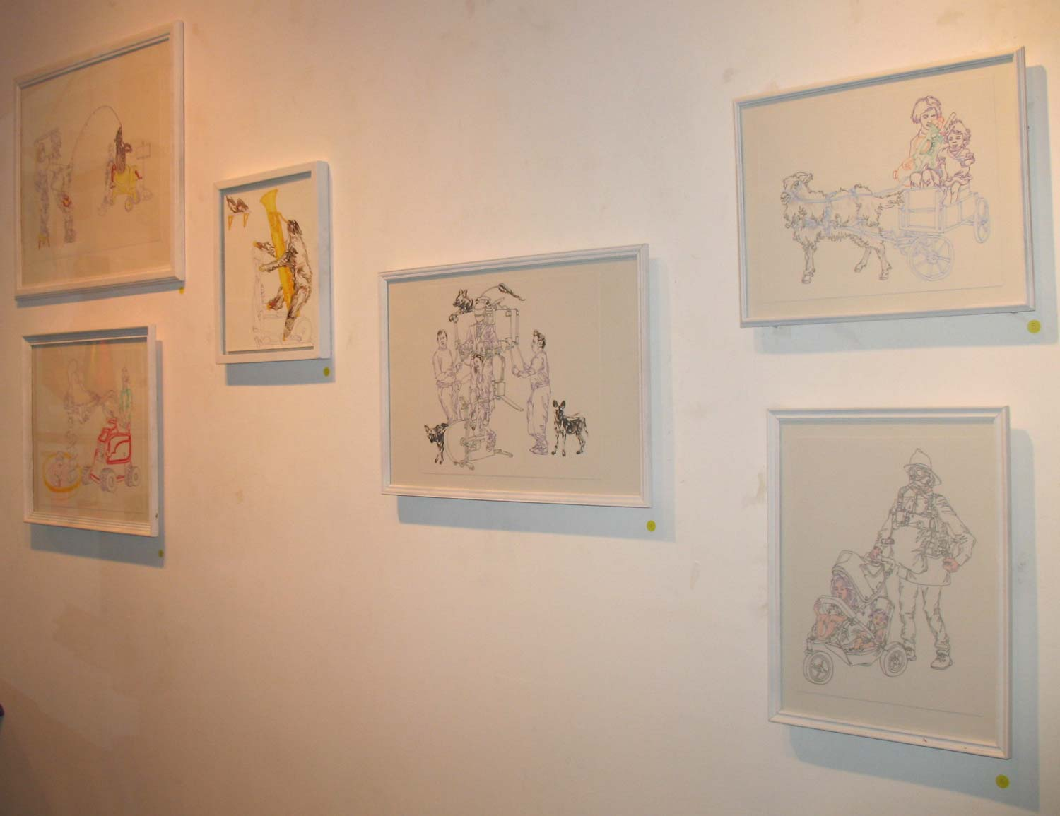 """""""Hyperlinks"""" Solo show, IndieCollective Gallery"""