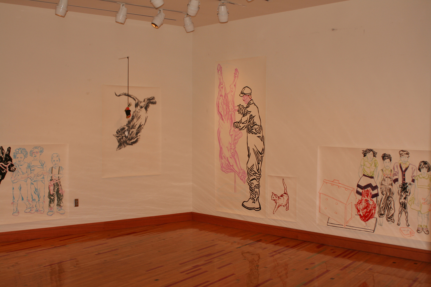 """Occupation/Domestication"" Solor show, JRC Gallery, Grinnell, IA"